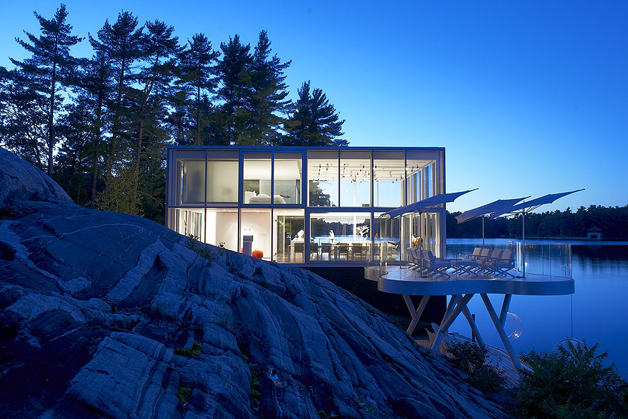 Glass Boat House